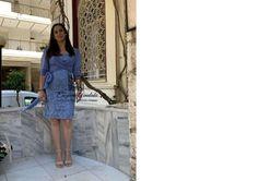 Haute couture dress . #eugeniaainalaki #handmade #hautecouture #tailormade #promdress #greekdesigners #dress#custommade #outfit Waist Skirt, High Waisted Skirt, Haute Couture Dresses, Custom Made, Denim Skirt, Prom Dresses, Skirts, Handmade, Outfits