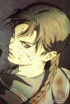 blood the last vampire - 85478 Blood The Last Vampire, Anime Manga, Anime Art, Blood C, Vampire Pictures, Roman, Vampire Art, Curious Cat, Illustrations