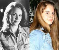 Sarah Paulson young and Lana Del Rey