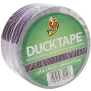 Duck Tape-Purple Zebra 10Yds