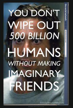 -Battlestar Galactica- - Gaius Baltar's social network...