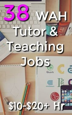 One legitimate type of work at home job is tutoring and teaching. Today I've put together a list of over 35 work at home tutoring and teaching jobs. Ways To Earn Money, Earn Money Online, Way To Make Money, Work From Home Moms, Make Money From Home, Making Extra Cash, Online Tutoring, Teaching Jobs, Online Work