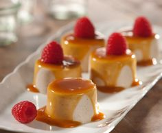 Panna Cotta with Caramel Sauce [V and GF] | One Green Planet