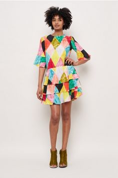 Gorman Online :: Harlequin Silk Dress - All - SALE