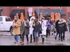 Dakota Johnson posing with fans in Aspen - YouTube