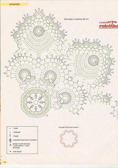 View album on Yandex. Irish Crochet Patterns, Crochet Motif, Crochet Shawl, Crochet Table Runner, Crochet Tablecloth, Lace Doilies, Crochet Doilies, Crochet Circles, Crochet Potholders