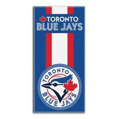 Don't let the summer go without some sizzling fandom with this Toronto Blue Jays Northwest Company Zone Read beach towel. This extra-large beach towel will get everyone noticing your favorite team while you catch some rays. The Toronto Blue Jays never loo Beer Bottle Opener, Toronto Blue Jays, Fan Gear, North West, Beach Towel, Gears, Bath, Swimming, Fitness