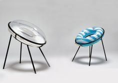 Design et Humour par Sachiko Fukutomi - Blog Esprit Design - inflatable chairs