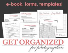 Business Forms Templates Interesting Photography Business Forms  5 Critical Contracts And Order Form .