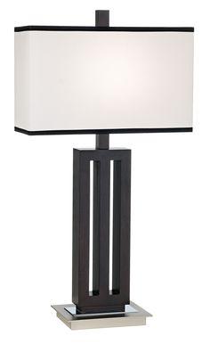 Modern Triple Column Possini Euro Table Lamp - EuroStyleLighting.com