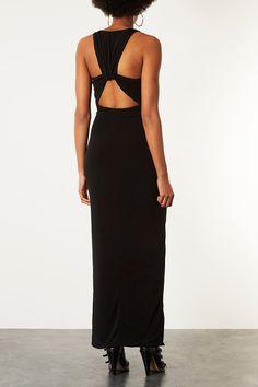 Cutout Back Maxi Dress $110 topshop