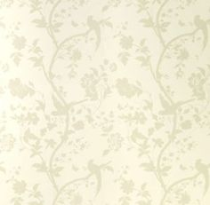 Laura Ashley Wallpaper Oriental Garden Natural Floral Birds   Pearlescent  Shine In Home, Furniture U0026 DIY, DIY Materials, Wallpaper U0026 Accessories