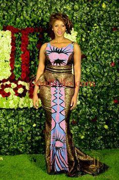 Creative Ankara Skirt and Blouse Style . Creative Ankara Skirt and Blouse Style African Print Dresses, African Fashion Dresses, African Dress, Nigerian Fashion, African Outfits, Ankara Fashion, African Attire, African Wear, African Women