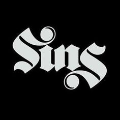 40 Cool and Creative Ambigram Designs - Hongkiat - Have you ever seen a word and read the same word upside down? This is one form of an ambigram. Gothic Lettering, Graffiti Lettering, Lettering Design, Hand Lettering, Graffiti Tattoo, Ambigram Tattoo, Tattoo Fonts, Calligraphy Tattoo, 2 Logo