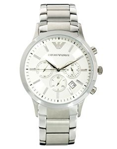 Emporio Armani Watch AR2458 Steel Strap