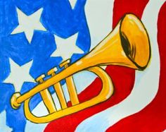Celebrate Danville's Great American Brass Band Festival with your own souvenir! We're painting this June 4th, 7 - 9 pm.
