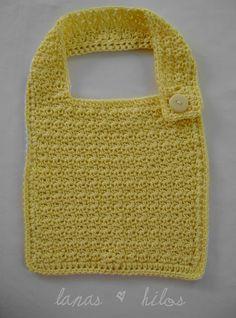 Baby Bib in crochet  (link to pattern)