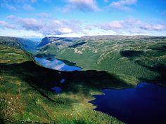 Gros Morne National Park is a world heritage site located on the west coast of Newfoundland. At sq mi), it is the second largest national park in Atlantic Canada (surpassed by the Torng Newfoundland Canada, Newfoundland And Labrador, Gros Morne, Atlantic Canada, What A Wonderful World, Canada Travel, World Heritage Sites, East Coast, Wonders Of The World