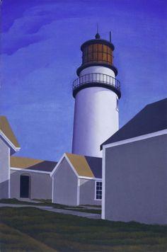 George C. Ault, Highland Light, 1929 - de Young, Fine Arts Museums of San FRancisco