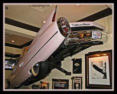 Elvis Presley's 1960 pink Cadillac ~