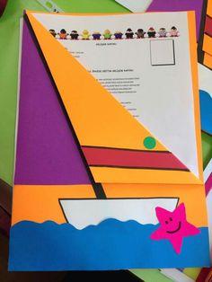 , Folder Decorado, Puppet Crafts, Preschool Education, Art Corner, Summer Crafts, Art Activities, Pre School, School Projects, Diy Paper