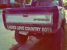 I loveeee my country boys! and I love that this truck is a ford :)