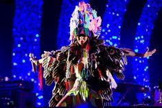 Karen O. in Christian Joy (Christiane Hultquist) Music Film, Art Music, Music Artists, Joy Costume, Costumes, Costume Ideas, Karen O, Rebel Fashion, Magical Images