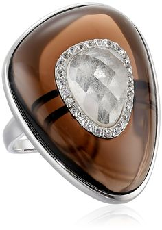 Sterling Silver Multi-Gemstone Ring, Size 7 * To view further for this item, visit the image link.