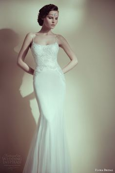 Flora Bridal's designer Rinat Asher gets her inspiration from the Roaring 1920s.