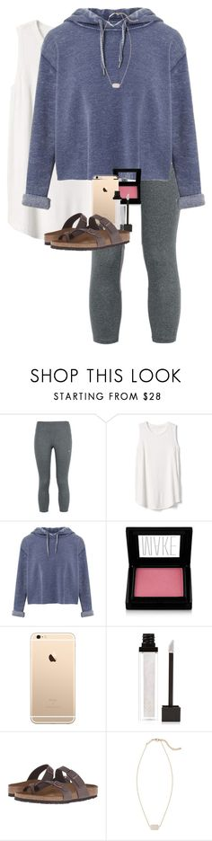 """It is what it is"" by erinlmarkel ❤ liked on Polyvore featuring NIKE, Gap, Miss Selfridge, Make, Jouer, Birkenstock and Kendra Scott"