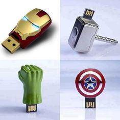 The #Avengers pen drive