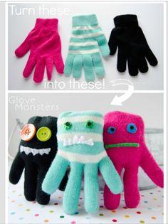 DIY Monster Stuff Animals #Various #Trusper #Tip