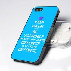 Case iphone 4 and 5 for Keep Calm and Be Your Self on Etsy, $16.11 AUD
