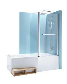 Brusebad: 2 i 1 i badeværelset: Current Woman The MAG - Nelly Sweet Home, Shower, Freestanding Bathtub, Victor Hugo, Subway Tile, Bathroom Ideas, Home Decor, Bathrooms, Images