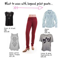 What to wear with... Corel Ivette Leopard Print #langzijn #wensmaatjes #lengtemaat_36 #tall_fashion