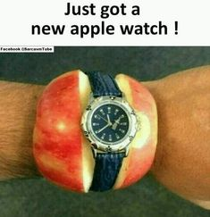 Apple Watch lustig - Apple Watch Fail - Apfel Uhr (Cool Pics For Whatsapp) Funny Spanish Memes, Crazy Funny Memes, Funny Animal Memes, Really Funny Memes, Stupid Funny Memes, Funny Relatable Memes, Hilarious, Funny Stuff, Memes Estúpidos