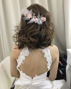 23 Cute Prom Hairstyles for 2019 - Updos, Braids, Half Ups & Down Dos - Style My. Prom Hairstyles For Long Hair, Short Bob Hairstyles, Latest Hairstyles, Girl Hairstyles, Hair Color Highlights, Hair Color Balayage, Haircolor, Simple Prom Hair, Top Braid