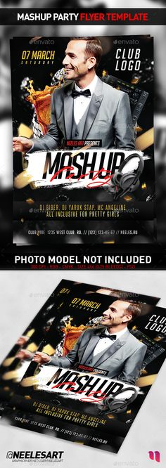Mashup Party Flyer