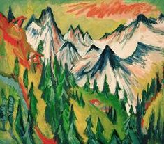 Ernst Ludwig Kirchner - Mountain summit