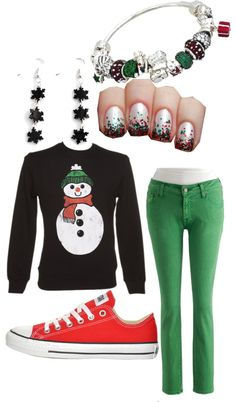 """Christmas Outfit"" by superwomaninluv on Polyvore"