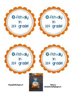 O fish ially first grade