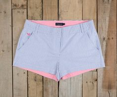 Southern Marsh Collection — The Brighton Short - Seersucker - Women's