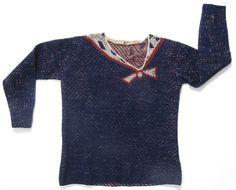 Les Arts Décoratifs - Cousu de fil blanc Exhibition Trompe L'oeil - Sweater from Elsa Schiaparelli Collection Januray 1927