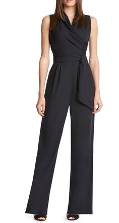 Jumpsuits can definitely work for the office. Just choose one with modest coverage and top with a blazer.