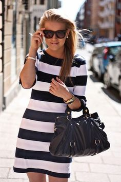 Love this style dress