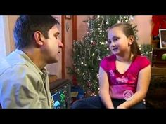 Girl Tells Santa She Wants Dad Home From Iraq Doesnt Know Santa is Dad.mp4  Such a sweet story