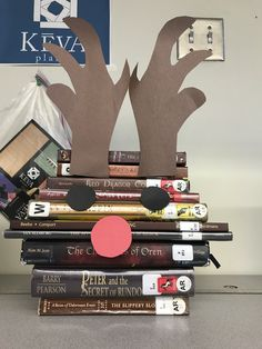 Reindeer out of books
