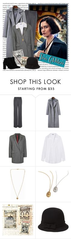 """""""Porpentina Goldstein - Fantastic Beasts & Where To Find Them"""" by darksweetlady ❤ liked on Polyvore featuring Oris, Dolce&Gabbana, Topshop, Prada, Michael Kors, By Emily, agnès b., MANGO, wizardingWorld and tinagoldstein"""