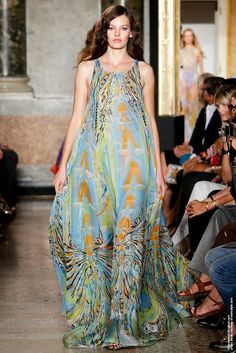 Emilio Pucci Spring and Summer 2015 Collections - Amanda Murphy
