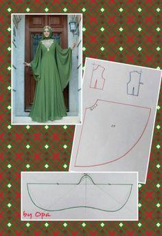 s media cache originals 63 94 - PIPicStats Diy Clothing, Sewing Clothes, Fashion Sewing, Diy Fashion, Dress Fashion, Dress Sewing Patterns, Clothing Patterns, Kaftan Pattern, Diy Kleidung